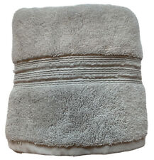 Hotel Collection Turkish Cotton Hand Towel Steam Gray