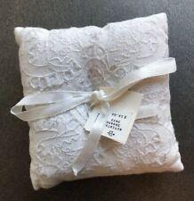 Bhldn Wedding Ringbearer Ivory Lace Pillow NWT