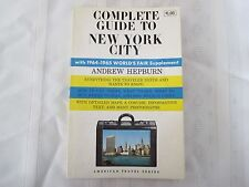 Complete Guide to New York City by Andrew Hepburn (World's Fair Supplement) 1964