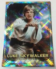 Luke Skywalker STAR WARS Force Collection Promo Card Holo / Shiny Japanese
