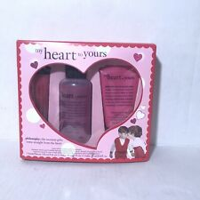 Philosophy My Heart to Yours Shower Gel Lotion High Gloss Lip Gloss New 3 piece