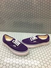 VANS Lo Pro Classic Purple Canvas Lace Up Skate Shoes Men's Size 7  Women's 8.5