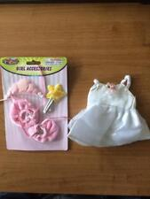 """New *White Princess Ballerina Outfit *Fit for an 8-10"""" Teddy Bear or Doll # S1"""