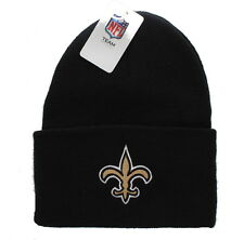 New! New Orleans Saints Embroidered Beanie Hat Cuffed Knit Skull Cap - NFL
