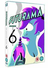 Futurama Complete Serie Season 6 DVD Region 4 New Sealed