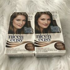 2 CLAIROL Nice 'n Easy Permanent Hair Color, 6G/116A Natural Light Golden Brown