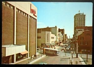 1960s View of Downtown Lancaster, Lancaster Square, N. Queen St., PA