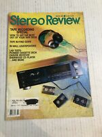 Vintage STEREO REVIEW Audiophile HIFI Magazine March 1989