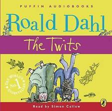 THE TWITS by Roald Dahl (CD-Audio, 2007) Simon Callow NEW & SEALED FREE P&P