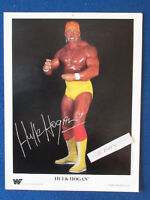 "Original Press Promo Photo - 10.5""x8.5"" - Hulk Hogan - WWF - 1990 - Wrestling"