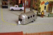 N scale 22ft Airstream camping trailer *CUSTOM FINISHED* 1:160 scale