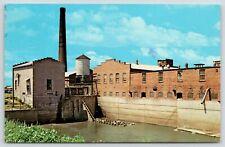 Amana Iowa~Hydro Plant Converts Mill Stream for Woolen Mill~1960s