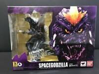 S.H.Monster Arts Space Godzilla Figure Bandai SPIRITS High quality figure USED