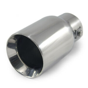 Car Exhaust Tip Trim Pipe Tail Muffler Stainless Steel For MG Rover Mini Cooper