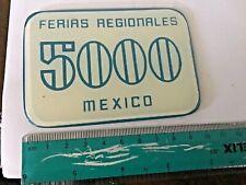 "Ferias Regionales Aguascalientes Mexico 5,000 pesos ""casino"" plaque"