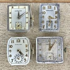 Hamilton Wrist Watch Movements - Cal. 747, M982, 982 - 19 Jewels