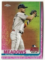 2019 TOPPS CHROME UPDATE AUSTIN MEADOWS ALL-STAR GAME PINK REFRACTOR #96 (RAYS)