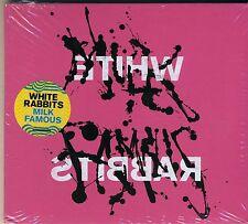 Milk Famous - White Rabbits promo cd new