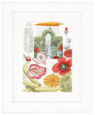 Vegetable Garden - Marjolein Bastin/Lanarte Cross Stitch Kit w/14 Ct. Aida