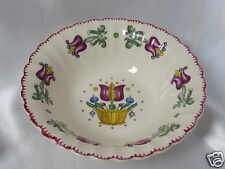American Limoges Old Dutch Pattern Round Vegetable Bowl