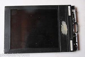 """Fidelity Deluxe Plastic Film Holder for 4x5"""" Cut Sheet Film - USED H255"""