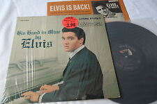 ELVIS Original 1960__LIVING STEREO__Hand In Mine LP__SHRINK__LSP-2328__EX