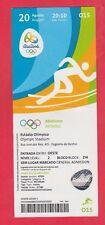 Orig.Ticket  Olympische Spiele RIO DE JANEIRO 2016 - Leichtathletik 20.08. // A