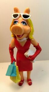 Jack In The Box Kids Meal Miss Piggy Muppets Take Hollywood PVC Figure