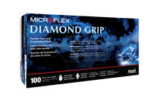 Microflex Diamond Grip Latex Gloves - Case = 10 boxes large