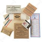 WW2 US D-Day Pocket Pack Filler Set for Re-enactment First Aid Medical
