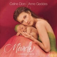 Miracle A Celebration of New Life Celine Dion Hardcover Book