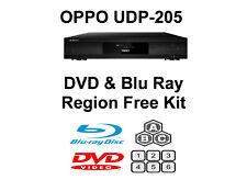 Oppo UDP-205 DVD & Blu Ray Region Free Unlock Kit