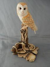 Lovely Border Fine Arts Figure of a Barn Owl (092) - Ray Ayres 1988
