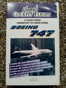 Harry's Cockpit Flight Frankfurt to Hong Kong Boeing 747
