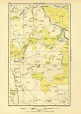 HAREFIELD. Batchworth Heath Northwood Ruislip (Middlesex) 1933 old vintage map