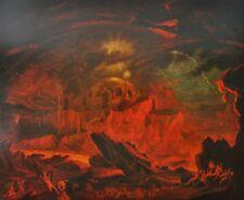 Fallen Angels Entering Pandemonium John Martin 1841 Paradise Lost Book 1 Hell