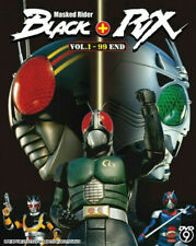Kamen Rider Black (Black + RX) Complete Set DVD with English Subtitle