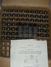 6P15P / SV83 / EL83 Russian tubes.NOS .GOLD GRID.Lot of 8