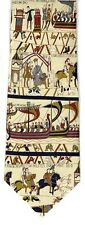 Bayeux Tapestry Medieval Silk Tie - 7330