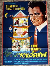 GLENN FORD * HAUS IN YOKOSHIMI /Cry for Happy - A1-Filmposter - Ger 1-Sheet 1961