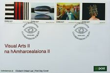 Ireland Stamps, First Day Cover, Contemporary Arts - Visual Arts II - 27/3/2014