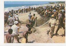 Brazil Salvador Puxada de Rede Na Pesca do Xareu Postcard 780a