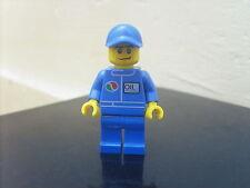 Mini-figure LEGO CITY: minifig POMPISTE - OCCASION Figurine TBE