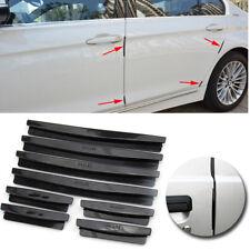 8pcs Auto Car Door Edge Guard Strip Scratch Protector Anti-collision Trim Black