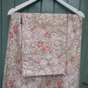 William Morris House Of Bath Double Duvet Cover 2 Pillowcases Golden Lily BNWOT