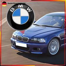 82mm BMW Emblem Logo Motorhaube Heckklappe Kofferraum 1 3 5 6 7 Z X3 X5 X6 DE