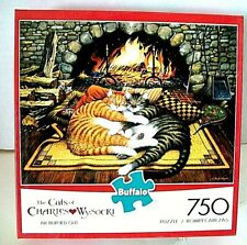 """The CATS of CHARLES WYSOCKI 750 PIECE """"ALL BURNED OUT"""" - Buffalo"""