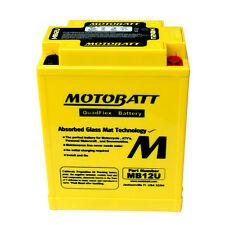Enhanced battery MB12U Motobatt = Yuasa: YB12AA; YB12AAS; YB12AAWS