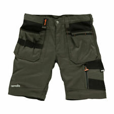 Scruffs T52811 Trade Shorts Slate 34 inch Waist - Grey