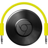 Google Chromecast Audio - Black - (GA3A00147-A14-Z01)